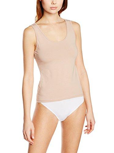 EVEN 684/Pack 3, Camiseta Interior para Mujer, Beige (Piel), Medium