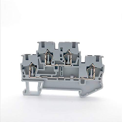WFBD-CN Batterieklemmen Cage Selbsthemmend Federklemme Double Layer Feder-Anschluss-Leiter Schienentyp Klemmenblock