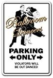 BALLROOM DANCERS Sign ball elegant dance music dancing teacher school   Indoor/Outdoor   14' Tall Plastic Sign