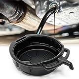 Vaschetta per drenaggio olio con Beccuccio, capacità 10 litri, Vaschetta Scarico Olio