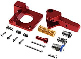 Iycorish Cr10 Pro Aluminum Upgrade Dual Gear Extruder Kit for Cr10S Pro Reprap Prusa I3 1.75Mm Drive Feed Double Pulley Ex...