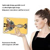 PRINDIY iPad Air 2/iPad Air タブレットケース,アンチダスト 軽量 耐衝撃性 TPUシリコーン 落下に強い クリア 指紋防止 ウルトラスリム 専用カバー iPad Air 2/iPad Air Case-D 07