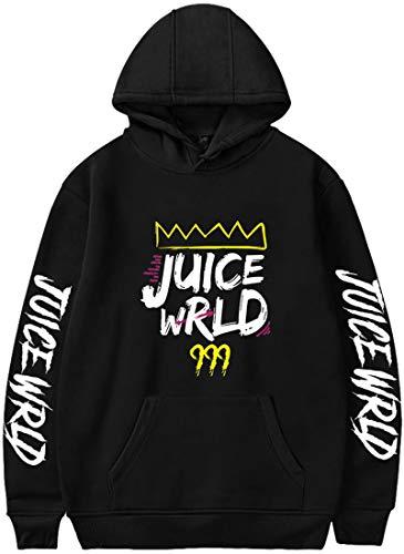 Juice WRLD Men's Hoodie Printed Sweatshirt Hip-hop Rap Hooded for Song Fans...
