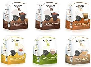 Compatibles Nescafé Dolce Gusto 96 capsules E-Gusto Mix Bols