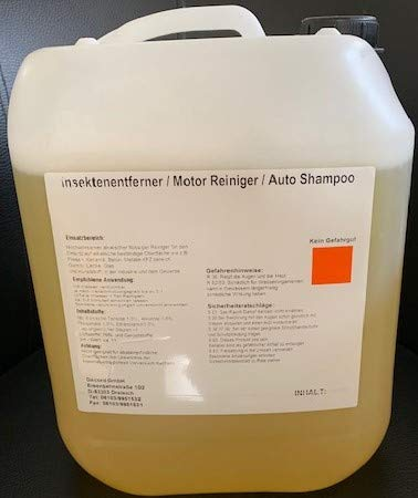 Hochwirksamer Insektenentferner Autoshompoo Felgenreiniger Universalreiniger 1 Liter