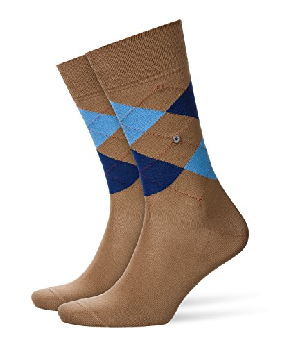 BURLINGTON Herren Socken Manchester - 85% Baumwolle, 1 Paar, Braun (Rosewood 5066), Größe: 40-46
