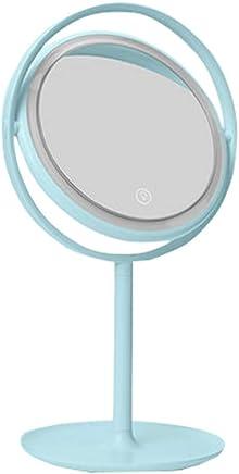 Desktop-Multifunktions Kosmetikspiegel Desktop-Prinzessin Spiegel Schreibtisch Schminktisch Kosmetikspiegel,Rosa