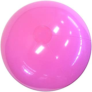 Beachballs - 16'' Solid Pink Beach Ball