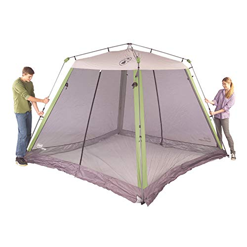 41Q+iqXMQ4L - Coleman Screened Canopy Tent | 15 x 13 Screened Sun Shelter with Instant Setup