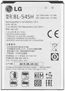 2 Pack LG BL-54SH Replacement Battery for LG Optimus F7 LG870 US870 P698 D720