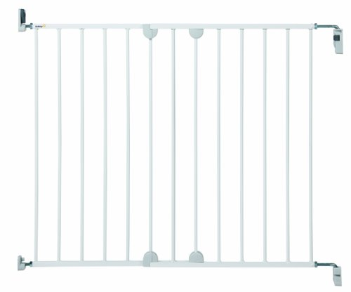 Safety 1st Barrière de sécurité Wall Fix Extending Métal Blanc