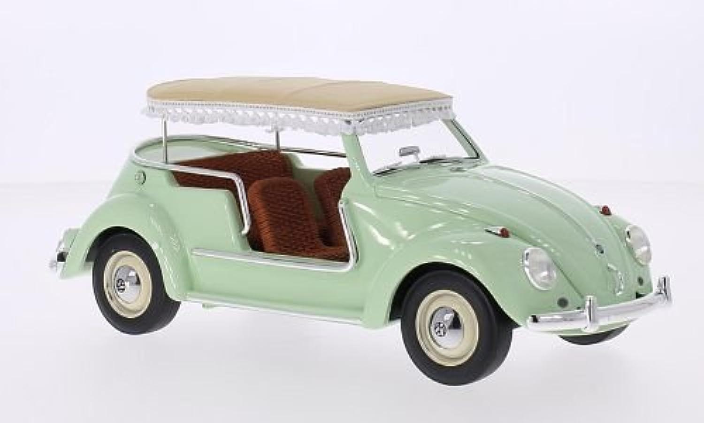 VW Kfer Jolly, hellgrün, Modellauto, Fertigmodell, Schuco   Pro.R 1 18