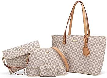YTL 4-Pieces Women Fashion Handbags Tote Bag