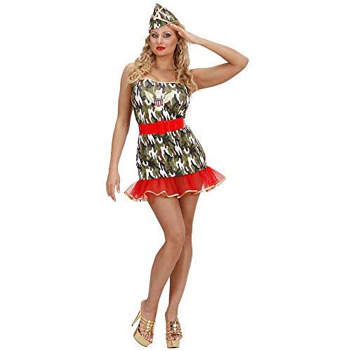 WIDMANN Widman Lycra esercito ragazze - Adult Costume - Medium - Taglia - 38-40