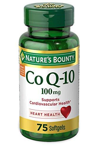 Nature's Bounty CoQ-10 100mg 75 Softgels (Packaging May Vary)