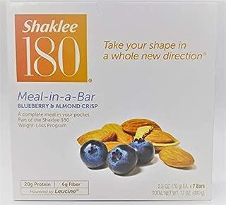 Shaklee® 180 Meal-in-a-Bar® (Blueberry & Almond Crisp - 7 Bars)