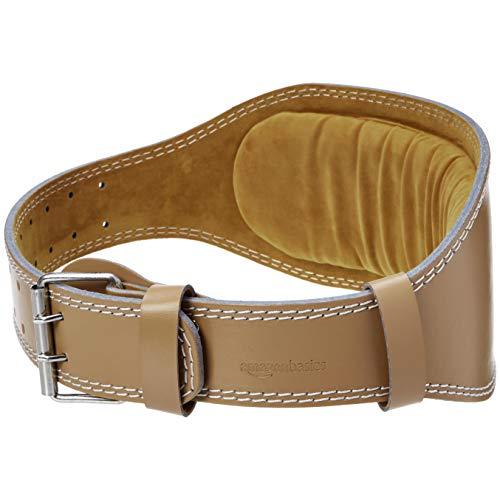 Amazon Basics – Cinturón de halterofilia acolchado, 15,2cm de ancho, extragrande