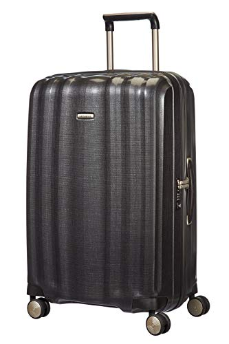 Samsonite Lite-Cube - Spinner L Suitcase, 76 cm, 96 Litre, Grey (Graphite)