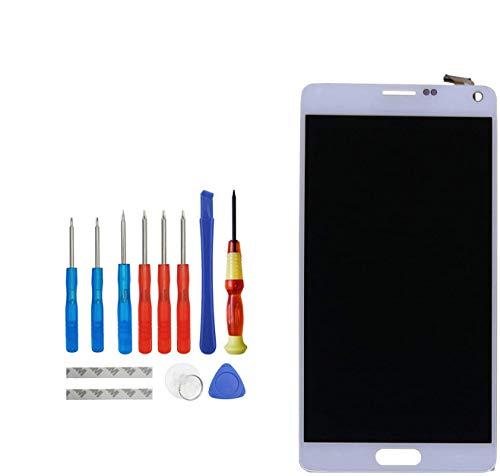 E-YIIVIIL Pantalla LCD de repuesto compatible con Samsung Galaxy Note 4 SM-N910C,...