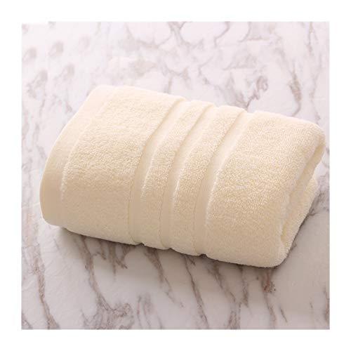 WYFDC Toallas de baño 3PC 100% Algodón Toallas Suaves Algodón Lavable A Máquina Extra Grande Toalla Baño Toalla Baño Lujo Cara 40x80cm Toallas Algodón, Hojas Baño (Color : Beige, Size : 40x80cm)