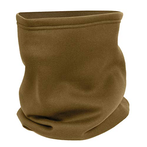 Rothco ECWCS Polyester Neck Gaiters, AR 670-1 Coyote Brown