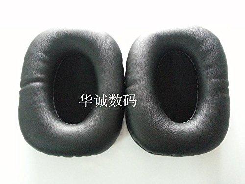Meijunter 1 Pair Ersatz Schwarz Ohrpolster Ohr Polster Cushions Part für MADCATZ Tritton AX Pro AX 720