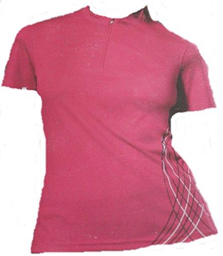 crivi tout Door® Femme Fonction Polo Polo T-shirt - violet - S