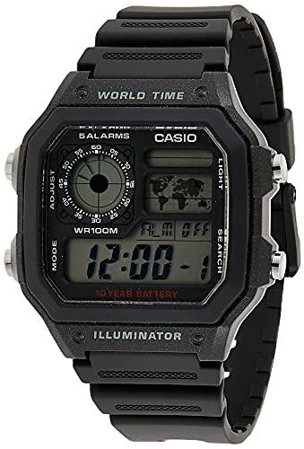 CASIO Digital AE-1200WH-1AVCF