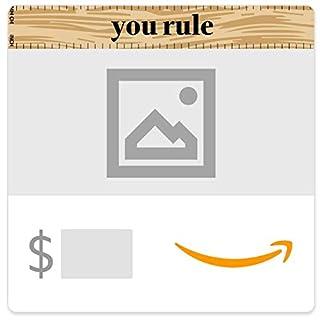 Amazon eGift Card - You Rule (Your Upload) (B08ZKVFQN2) | Amazon price tracker / tracking, Amazon price history charts, Amazon price watches, Amazon price drop alerts
