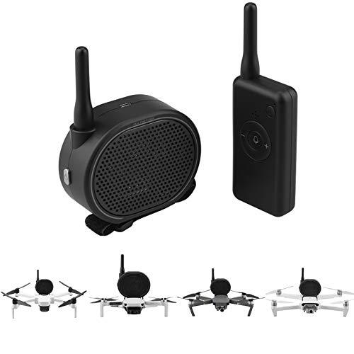 iEago RC Drone Megafono Tempo Reale Senza Fili Altoparlante con Bundle USB Ricarica Aerea Trasmissione per DJI Mavic Mini / PRO / Air Mavic 2 / Spark / Xiaomi FIMI x8 / Hubsan Zino / Phantom 3 4 PRO