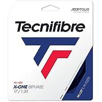 テクニファイバー(Tecnifibre) 硬式テニス ガット エックスワン バイフェイズ 12m ブラック 1.24mm TFG201