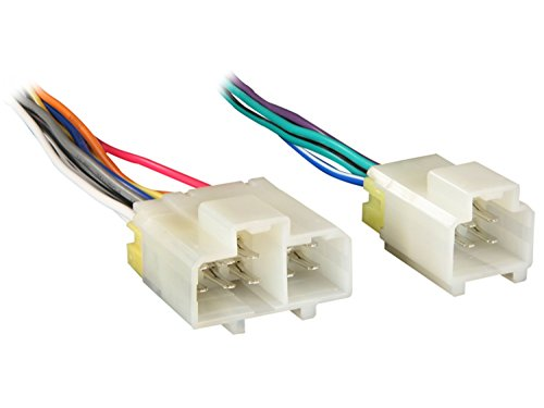Metra 70-1763 Wiring Harness for Select 1984-1994 Nissan and Infiniti Vehicles