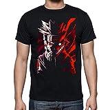 Camiseta de Hombre Naruto Manga Anime Shuriken Sasuke Kakashi 001 XL