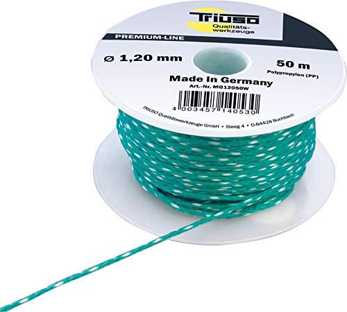 TRIUSO Hilo de albañil verde 1,2mm/50m Polipropileno m