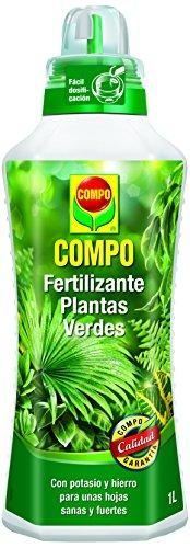 Compo 1444102011 Fertilizante Planta Verde 1000 ml, 28x9.