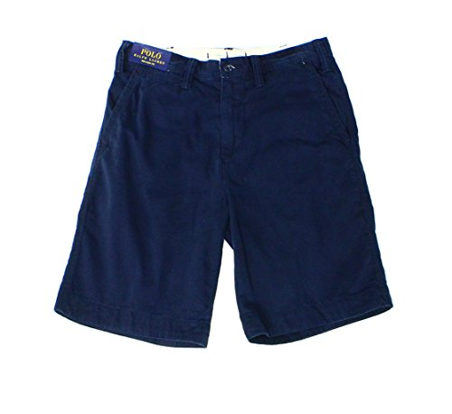 Polo Ralph Lauren Mens Relaxed Fit Chino Shorts (30, Aviator Navy)