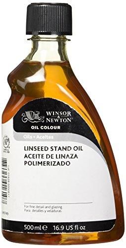Winsor & Newton Stand-Leinöl, 500 ml Flasche