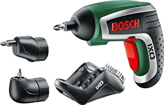 Bosch Visseuse Sans Fil IXO IV Deluxe avec 10 Embouts de Vissage, Renvoi d'Angle, Adapteur Excentrique et Chargeur 0603981002 (B007ZPWUZ6) | Amazon price tracker / tracking, Amazon price history charts, Amazon price watches, Amazon price drop alerts