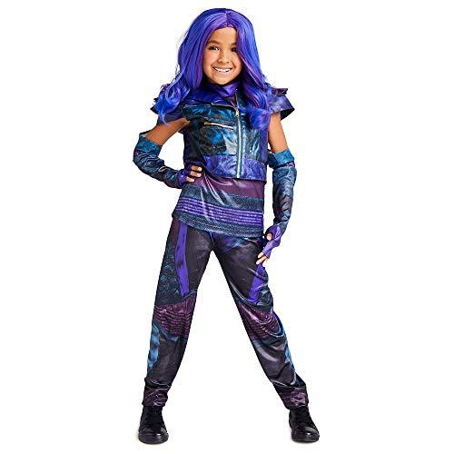 Disney Mal Costume for Kids - Descendientes 3, Multicolor, Large