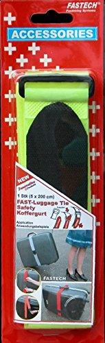 FASTECH 922-0309 1 Stk Luggage Tie 5x200 cm Neon YELLOW