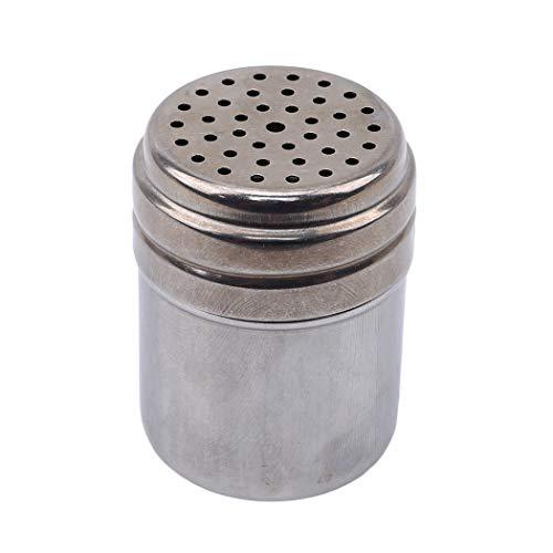 Eleusine Edelstahl Gewürze Flaschen Salz Zuckerglas Pfefferstreuer Gewürzdosen Für Das Kochen In Der Küche Und Grill Im Freien