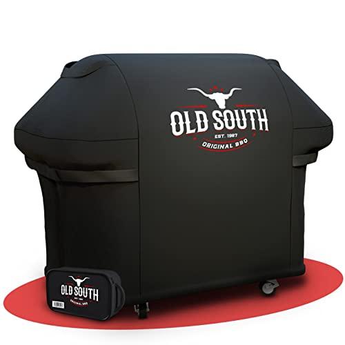 Old South - Grillabdeckung by HoneyMustard - Innovative Grill Abdeckhaube - Grillabdeckung wetterfest, Abdeckplane Grill wasserdicht