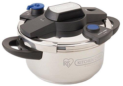 アイリスオーヤマ 鍋 圧力鍋 かんたん開閉圧力鍋 4L EH-KPC-40E