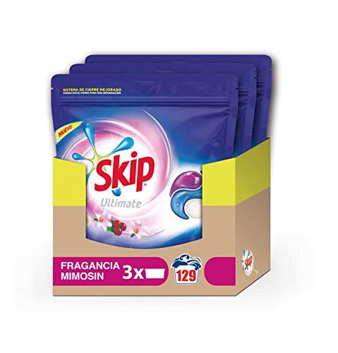 Skip Ultimate Triple Poder Fragancia Mimosín Detergente Cá