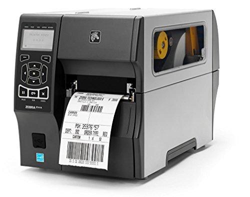 Zebra ZT410 Éplucheur 12 points/mm (300dpi), éplucheur RTC, écran EPL, ZPL, ZPLII, USB, RS232, BT, Ethernet