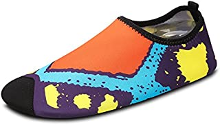 Lucdespo Secado rápido natación Zapatos, rastreo Creek, Agua Zapatos Zapatos y Hombres y Mujeres Yoga Zapatos