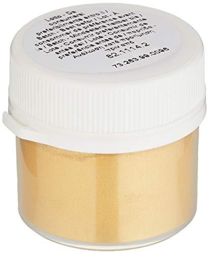 silikomart 73.263.99.0096 Decorazione Torta, Prodotti Alimentari, Oro, 5 g