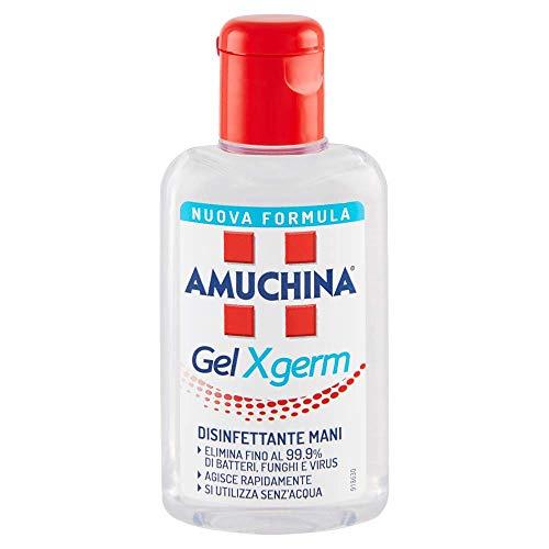 Set 6 AMUCHINA gel Igienizzante Mani X-germ 80 ml Disinfettanti e Igienizzanti