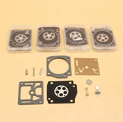 NAWQK Kit de reparación de diafragma de carburador de 5 Piezas Fit para Husqvarna 362 365 371 372 372xp Fit para Jonser-ed 2065 2165 Piezas de Motosierra