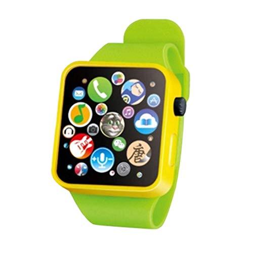 Mallalah - Reloj inteligente para niños, juguete educativo precoz, pulsera 3D con pantalla táctil, música, historia, bebé, regalo de aprendizaje, multifunción, reloj